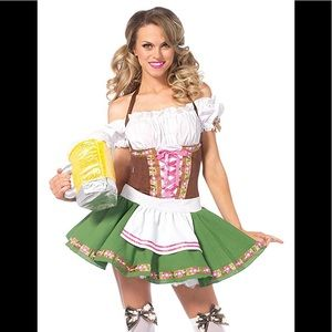 Leg Avenue Beer Babe Oktoberfest Costume
